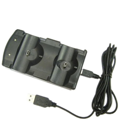 SYYTECH 2 in 1 Double Charging Dock Charger for PS3 Controller or PS3 Move