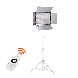 Travor TL-600AS 2 in 1 lamp set professional phonographic audio video film lighting equipment shooting led panel battery light
