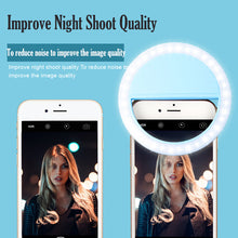 Load image into Gallery viewer, 36LED Beauty Portable Rechargeable photo Studio fill light makeup Photographic light live webcast selfie led Ring Light