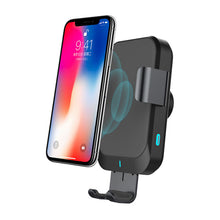 Load image into Gallery viewer, Wireless Car Charger Fast Charging 15W Car Phone Holder Car Wireless Charger Mobile Holder