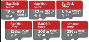 Full Capacity SD Card 8GB 16GB 32GB 64GB 128GB 256GB Flash Micro TF SD Cards Class 10 U3 A1 Micro Memory SD Card