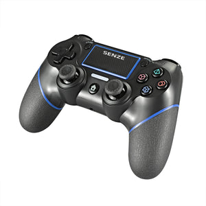 Senze SZ-4002B bluetooth Gamepad Six-axis Sensor Motor Vibration Game Controller for Sony for Playstation 4 3 Game Console PS4 PS3 PC
