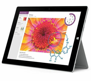 "Microsoft Surface 3 WiFi 64GB Tablet 10.8"" Intel Atom Quad Core SSD Windows 10"