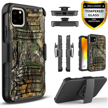 Load image into Gallery viewer, For iPhone 11 / Pro Max Case, Belt Clip Cover + Tempered Glass Screen Protector