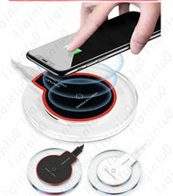 Load image into Gallery viewer, Qi Wireless Phone Charger Pad for iPhone 11 XS XR Samsung Note 10 MOTO LG Pixel