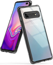 Load image into Gallery viewer, Samsung Galaxy S10, S10 Plus, S10e | Ringke [FUSION] Clear Shockproof Cover Case
