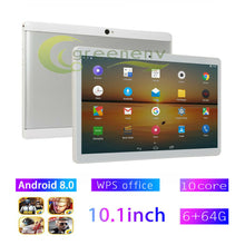 Load image into Gallery viewer, Android 8.0 Ten Core 10.1 Inch HD Game Tablet Computer PC GPS Wifi Dual Camera