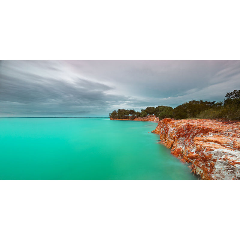 Green waters under great skies at East point, Darwin.