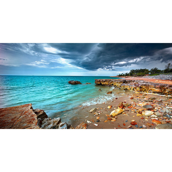 Storm clouds over Nightcliff foreshore