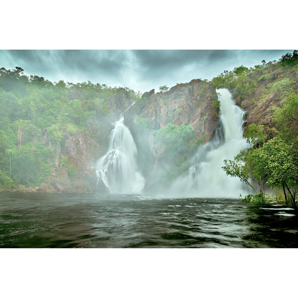 Wangi Falls, Litchfield National Park in full flood during the wet season