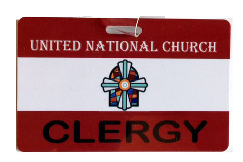 Minister Clergy Badge