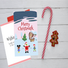 Merry Christmask-Covid  Greeting Card - Simply Tiffany Chalk