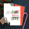 Happy Holidays Greeting Card - Simply Tiffany Chalk