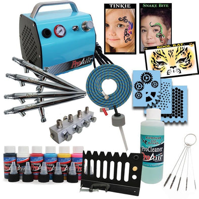 Airbrush Face Painting Starter Kit - SOBA - ShowOffs Body Art