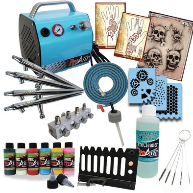 Airbrush Tattoo Starter Kit - SOBA - ShowOffs Body Art