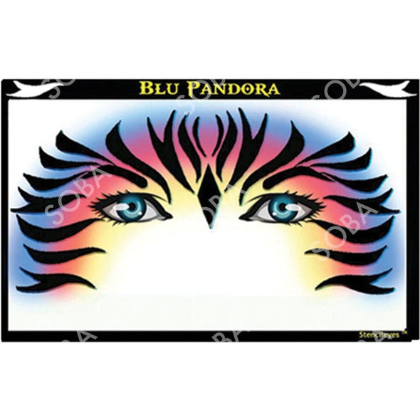 Blue Pandora - SOBA - ShowOffs Body Art