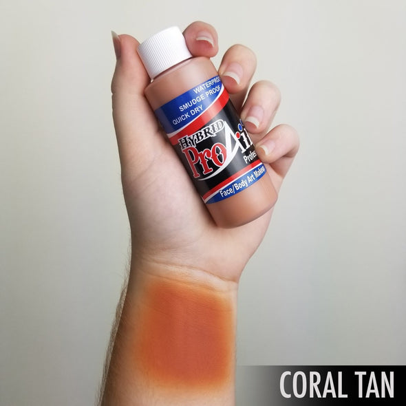 Coral Tan Hybrid - SOBA - ShowOffs Body Art