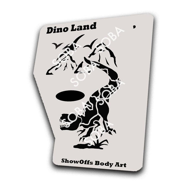 Dino Land - SOBA - ShowOffs Body Art
