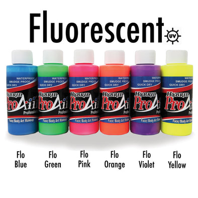 Fluorescent UV Hybrid Colors