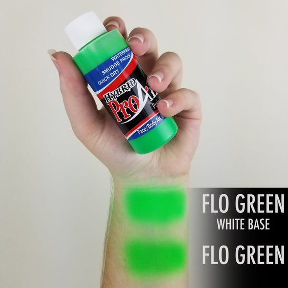 Fluorescent Green Hybrid - SOBA - ShowOffs Body Art