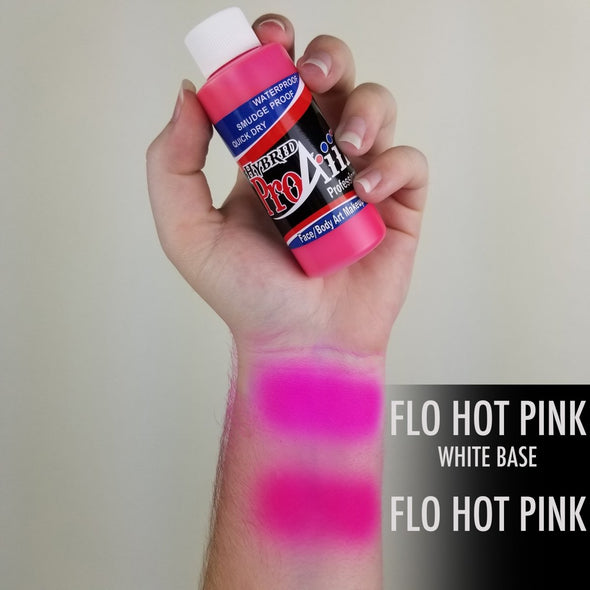 Fluorescent Hot Pink Hybrid - SOBA - ShowOffs Body Art
