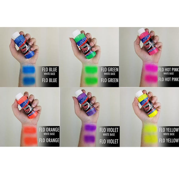 Fluorescent UV Hybrid Colors - SOBA - ShowOffs Body Art