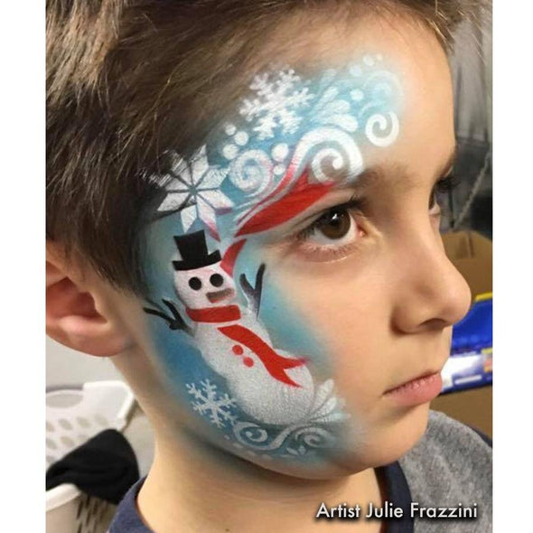 Flurry Snowman - SOBA - ShowOffs Body Art