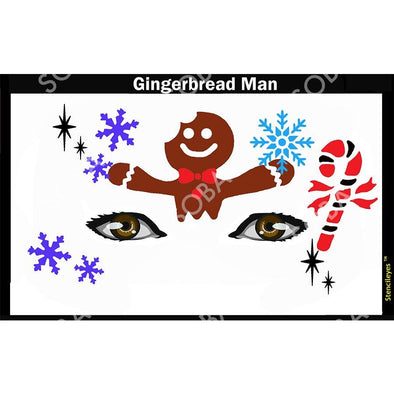 Gingerbread Man - SOBA - ShowOffs Body Art