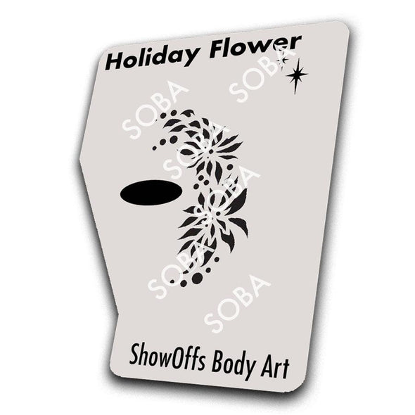 Holiday Flower - SOBA - ShowOffs Body Art
