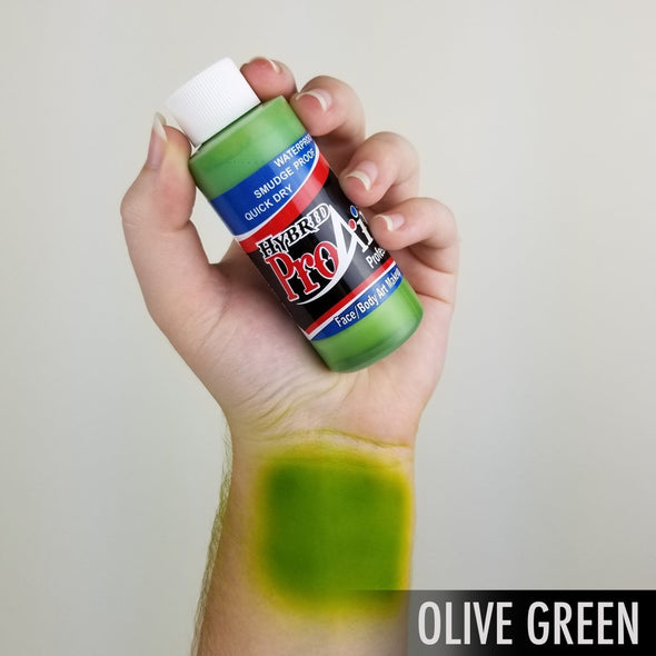 Olive Green Hybrid - SOBA - ShowOffs Body Art