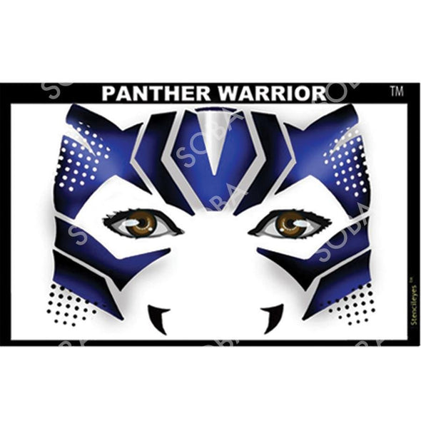 Panther Warrior - SOBA - ShowOffs Body Art