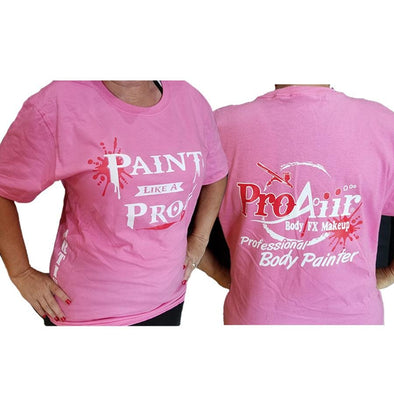 ProAiir Artist Tee Shirt Pink - SOBA - ShowOffs Body Art