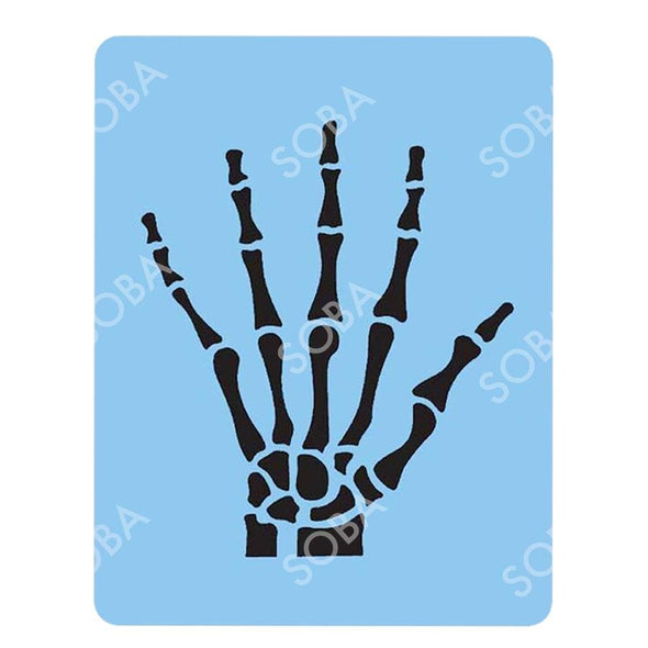 QEZ45/67 Skeleton Hand - SOBA - ShowOffs Body Art