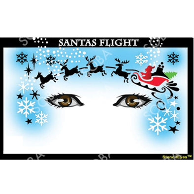 Santas Flight - SOBA - ShowOffs Body Art