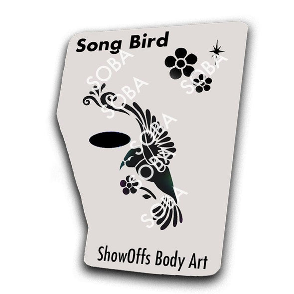 Song Bird - SOBA - ShowOffs Body Art