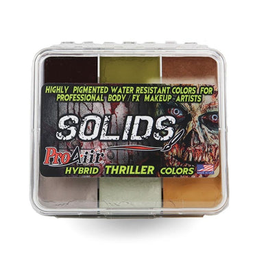Thriller Palette - SOBA - ShowOffs Body Art
