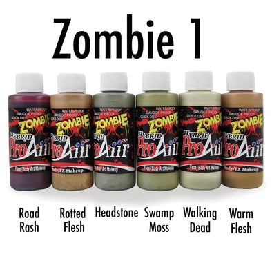 Zombie 1 Hybrid Colors - SOBA - ShowOffs Body Art