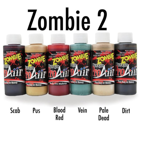 Zombie 2 Hybrid Colors - SOBA - ShowOffs Body Art