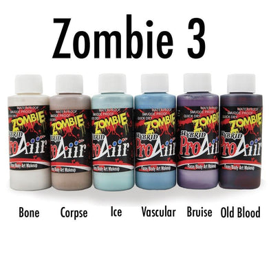 Zombie 3 Hybrid Colors - SOBA - ShowOffs Body Art