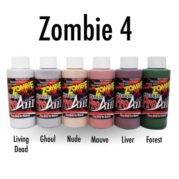 Zombie 4 Hybrid Colors - SOBA - ShowOffs Body Art