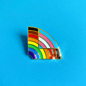 Pride Rainbow+ Pin