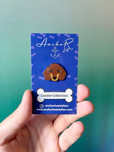 Load image into Gallery viewer, Dachshund Coco Enamel Pin