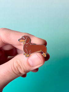 Dachshund Dog Pin