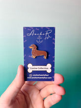 Load image into Gallery viewer, Dachshund Dog Pin