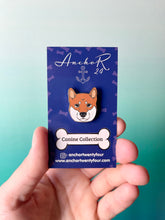 Load image into Gallery viewer, Shiba Inu Lexi Enamel Pin