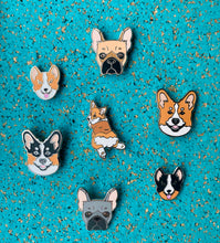 Load image into Gallery viewer, Corgi Parker Pin