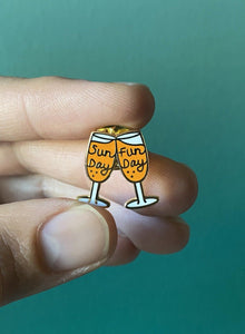Sunday Funday Mimosas Pin