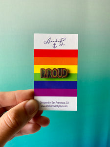 Proud Pride Pin