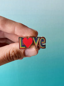 Love Pride Pin