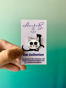 Cool Cat Pin